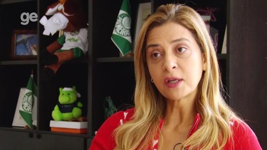 """Nova celebridade, Leila admite presidir Palmeiras no futuro: """"É desejo de todos aquela cadeira"""""""