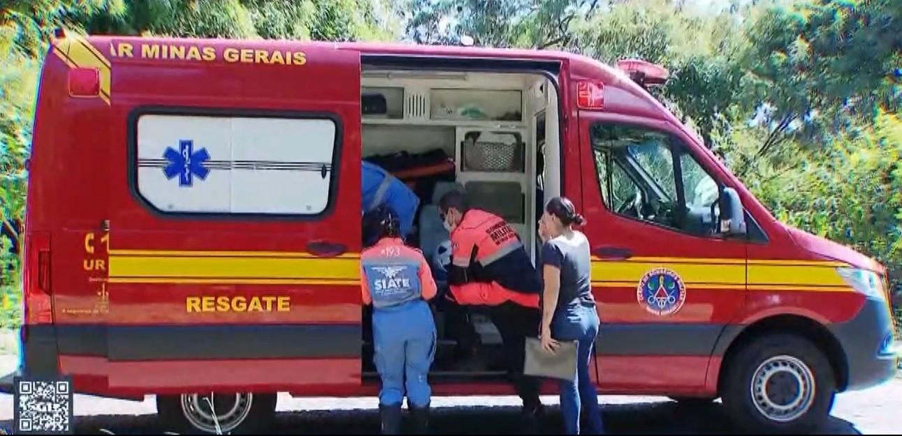 Motociclista perde controle do veículo e atropela duas crianças em Uberlândia