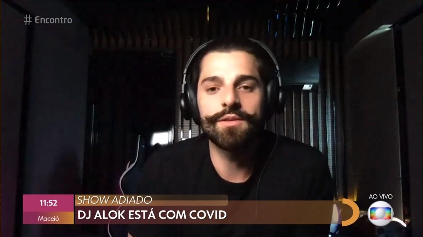 Alok testa positivo para Covid-19 e remarca live para 19 de dezembro