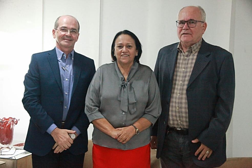 Novos dirigentes de órgãos estaduais foram anunciados por Fátima Bezerra (PT) no RN — Foto: Divulgação