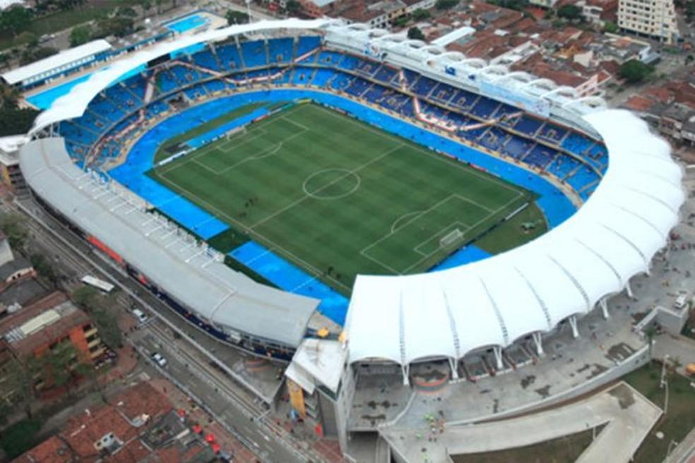 Estádio Pascual Guerrero, do América de Cali, da Colômbia — Foto: Divulgação/América de Cali