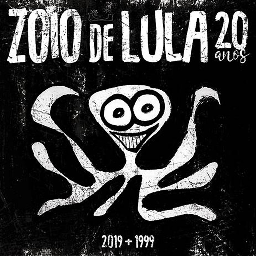 Capa do single 'Zoio de lula 20 anos – 2019 + 1999' — Foto: Chorão