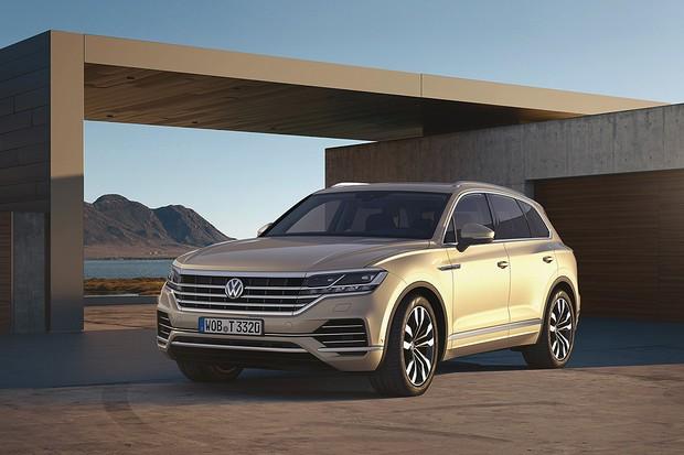 Novo Volkswagen Touareg (Foto: Divulgação)