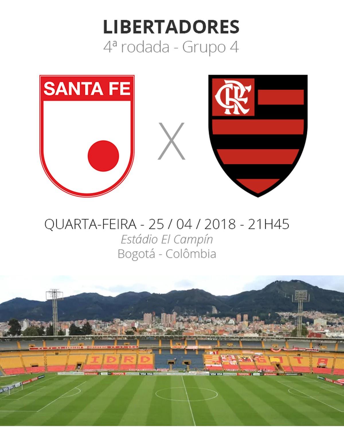 Libertadores  tudo o que você precisa saber sobre Santa Fe x Flamengo  49195cc8f3642