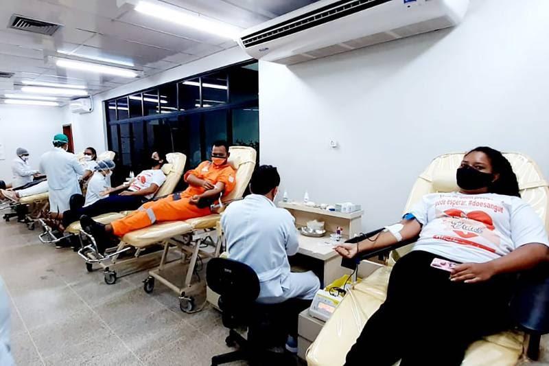 Hemocentro regional de Santarém recebe grupo de voluntários 'Doadores de Vida'