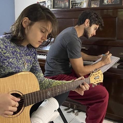 Daniel Blanco e a irmã, Estrela Blanco (Foto: Anna Rita Cerqueira)