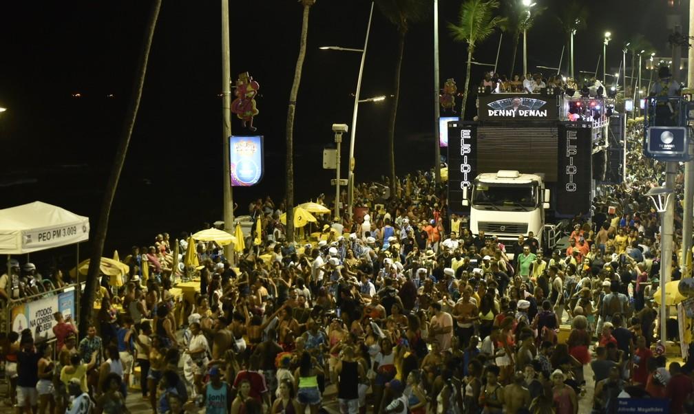 Prefeito Bruno Reis não cravou Carnaval em julho e disse que é necessário que toda a população esteja vacinada — Foto: Elias Dantas/Ag. Haack