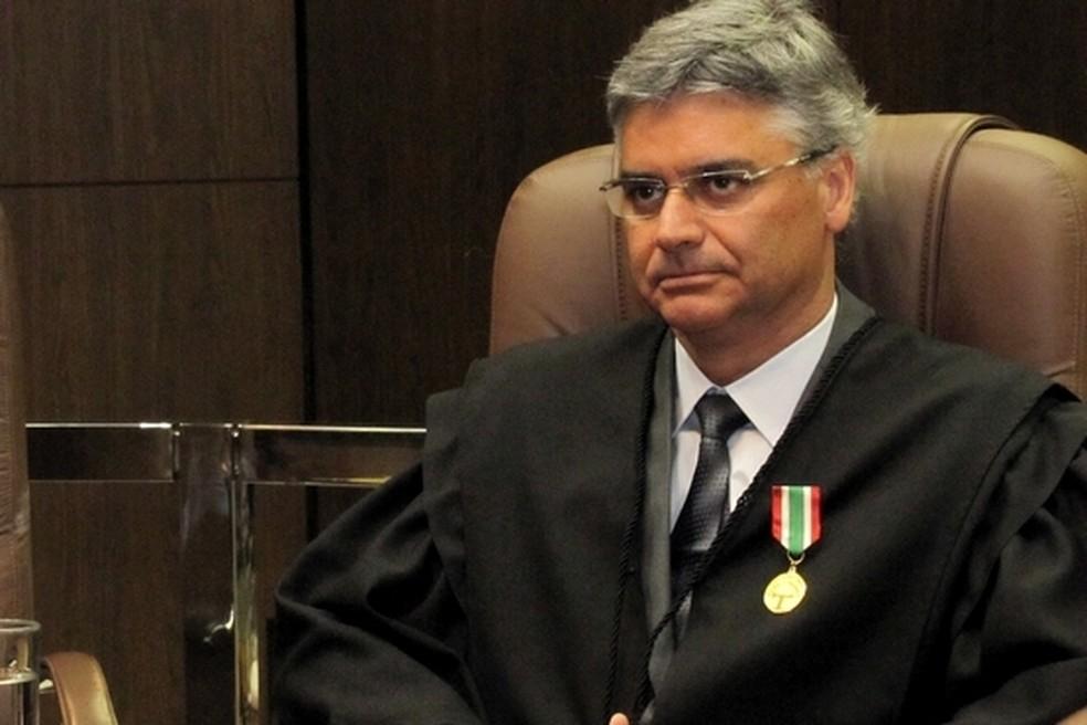 Rodrigo Collaço foi eleito presidente do TJSC nesta quarta-feira (Foto: TJSC/Divulgação)