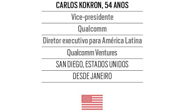 Carlos Kokron, 54 anos, Vice-presidente Qualcomm Diretor executivo para América Latina Qualcomm Ventures  (Foto: Divulgação)
