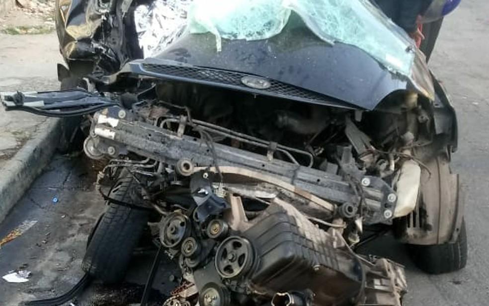 Grave acidente de carro em Guarulhos deixa 5 adolescentes mortos (Foto: Aldieres Batista/Arquivo Pessoal)