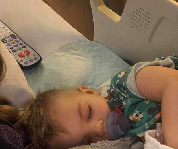 Nash quase morreu ao aspirar pipoca (Foto: Reprodução/ Facebook)