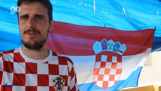 Euforia, tristeza e orgulho: as emoções de um croata ao ver a final da Copa; vídeo