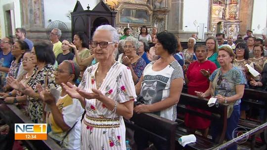 Fiéis celebram 100 anos da coroação canônica de Nossa Senhora do Carmo