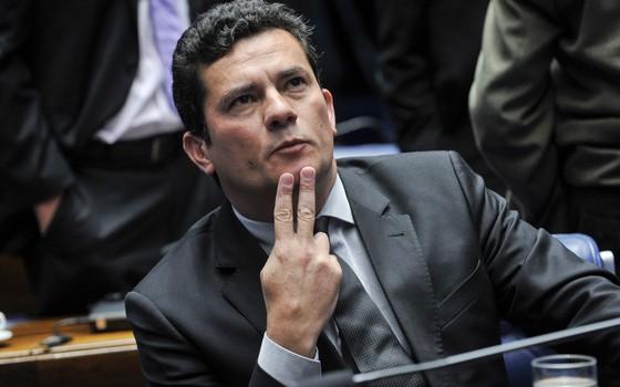 O juiz federal Sergio Moro (Foto: Jane de Araújo/Agência Senado)