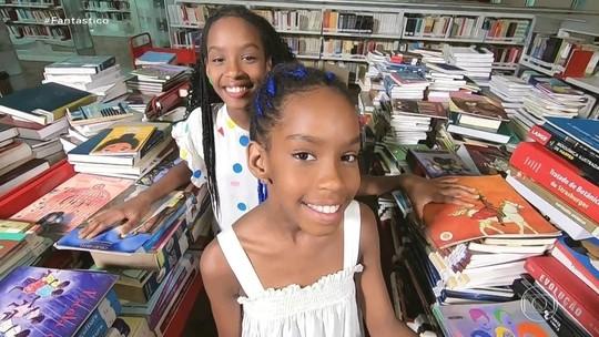 Inspiradas por escritora Carolina de Jesus, irmãs fazem vídeos para incentivar leitura