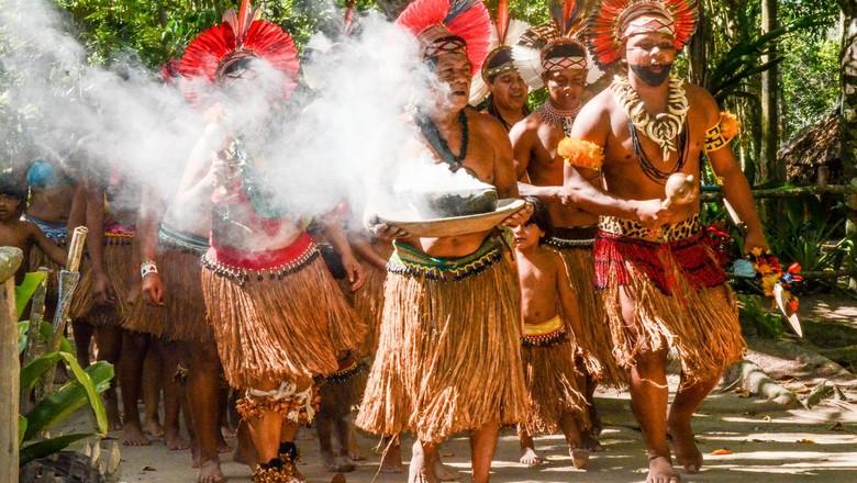 indio-indigena-funai (Foto: Reprodução/ Facebook Funai - Fundação Nacional do Índio)