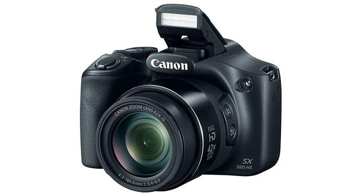 Canon PowerShot SX520 HS tem resolução de 16 MP para fotos e vídeos em Full  HD 8f477adbbc