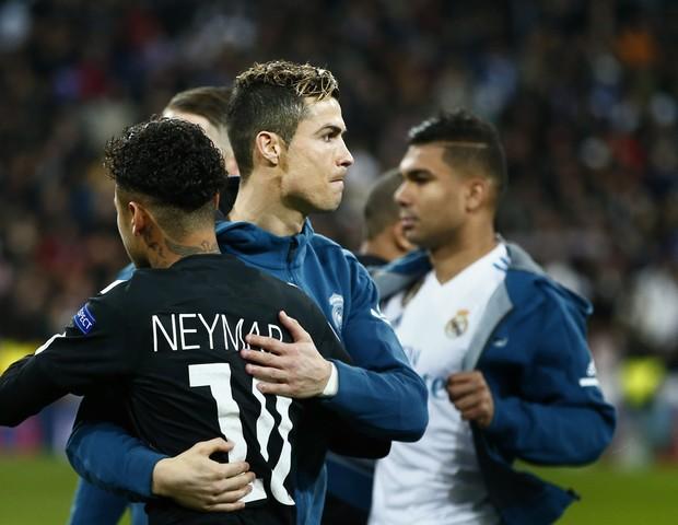 Cristiano Ronaldo e Neymar (Foto: getty images)