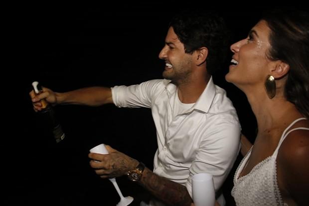 Rebeca Abravanel e Alexandre Pato (Foto: FredPontes/Divulgação)