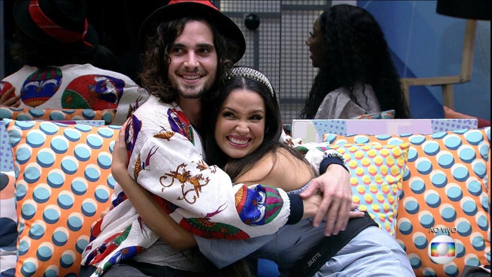 Fiuk e Juliette no 'BBB21' — Foto: Globo