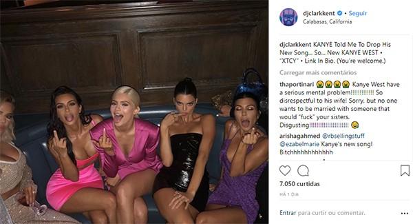 Irmãs Kardashian-Jenner (Foto: Instagram)
