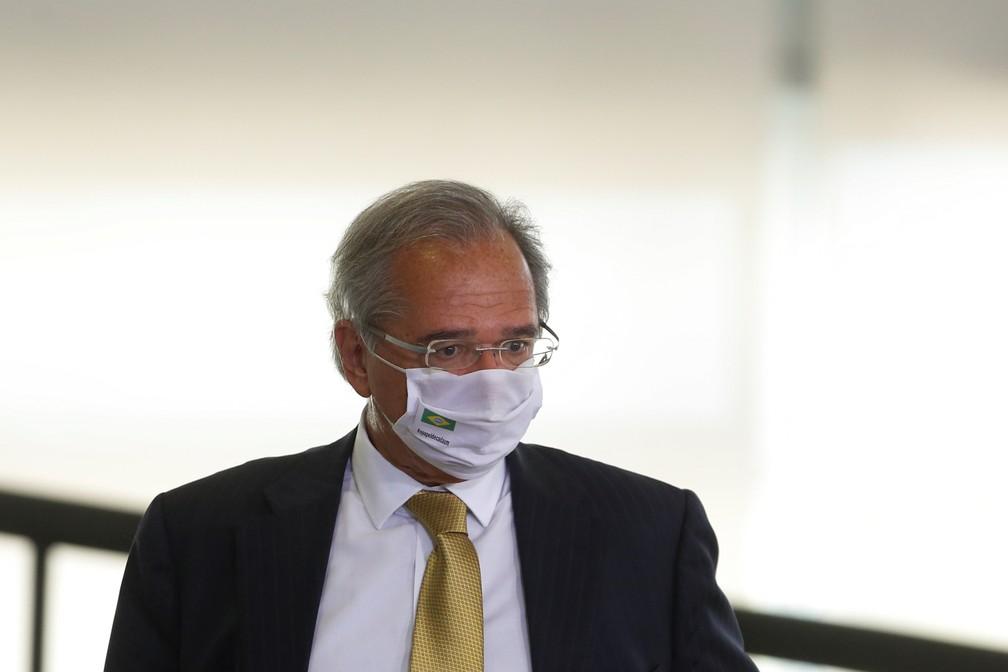 Ministro da Economia, Paulo Guedes. — Foto: REUTERS/Adriano Machado.