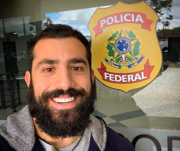 Kaysar foi à Polícia Federal (Foto: Reprodução Instagram)