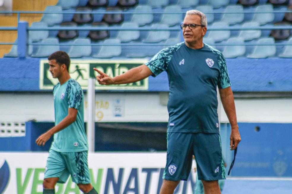Meia completou 18 anos em setembro, mas desde o início do ano estava integrado ao time profissional do Paysandu — Foto: Jorge Luiz/Paysandu