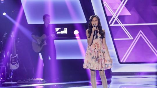 Ana Julia comemora vaga no time de Simone & Simaria no 'The Voice Kids': 'São as técnicas que eu queria!'