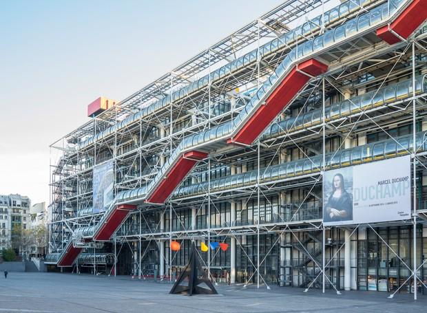 Centro Pompidou, em Paris (Foto: Reprodução/ Condé Nast Traveller)