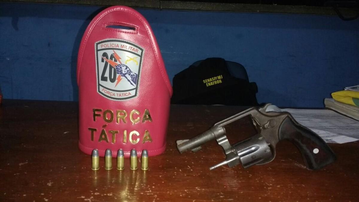 Adolescente é detido com revólver e munições em Rorainópolis, Sul de RR