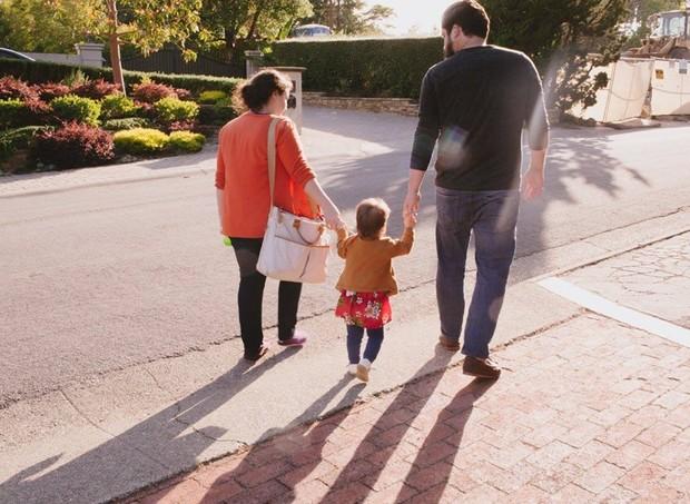 Charlotte e Dave Willner, com a filha da mesma idade da hondurenha (Foto: Reprodução/ Facebook)