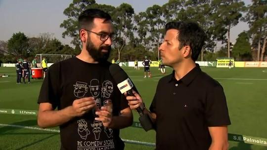 Velocidade, 1x1 e bola no chão: veja como foi a reapresentação do Palmeiras na Academia de Futebol