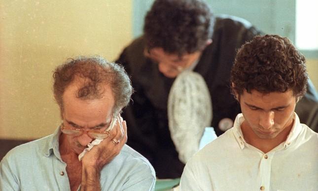 O fazendeiro Darly Alves e seu filho Darci, condenados a 19 anos pela morte de Mendes