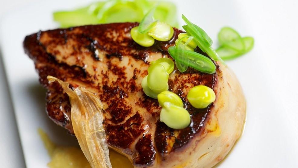 A produção do foie gras é uma prática que data do Egito antigo — Foto: Getty Images