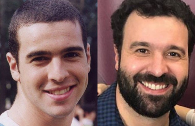 Douglas Aguillar viveu o personagem Mau, irmão de Ritinha (Bruna Thedy). Agora, ele trabalha atrás das câmeras, como diretor (Foto: TV Globo / Reprodução )