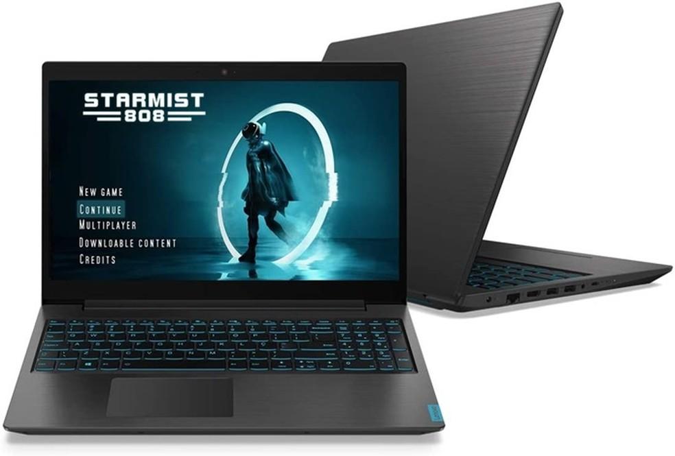 Uma opção até R$ 5 mil é o Ideapad L340, da Lenovo