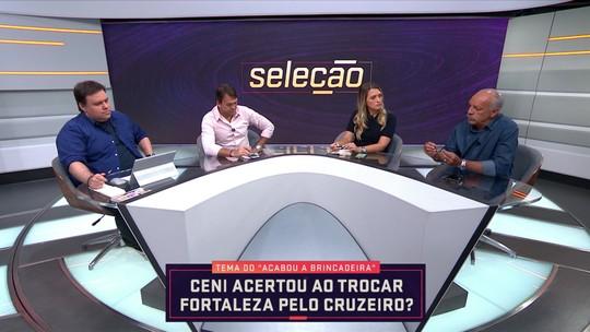 """Júnior destaca """"mentalidade diferente"""" de Rogério Ceni, novo treinador do Cruzeiro"""