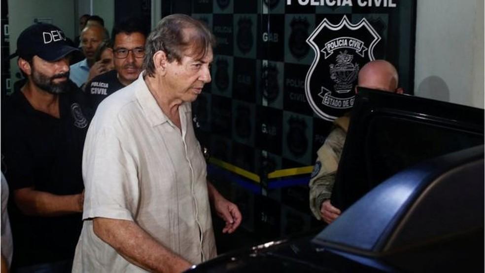 João de Deus está preso e diz ser inocente — Foto: Reuters