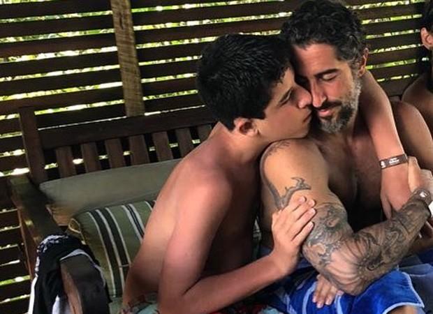 Marcos Mion e Romeo (Foto: Reprodução/Instagram)
