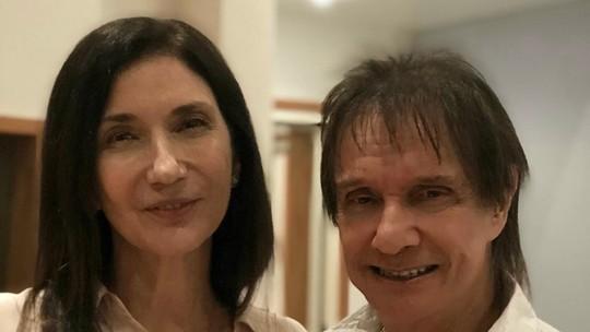 Zizi Possi revela que sonhava em se casar com Roberto Carlos