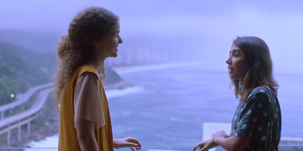 As duas cantoras no filme 'Ana e Vitória' (Foto: Divulgação)