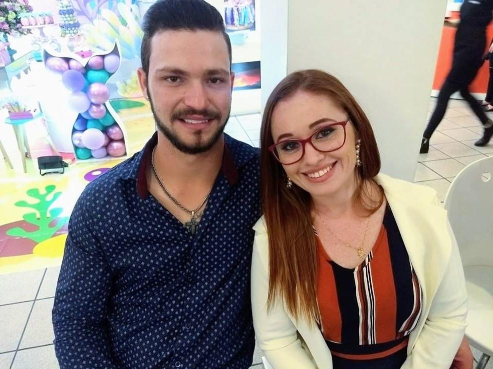 Thais de Andrade foi morta pelo namorado, Anderson Urich, após uma festa de carnaval em Borborema — Foto: Redes sociais/Reprodução