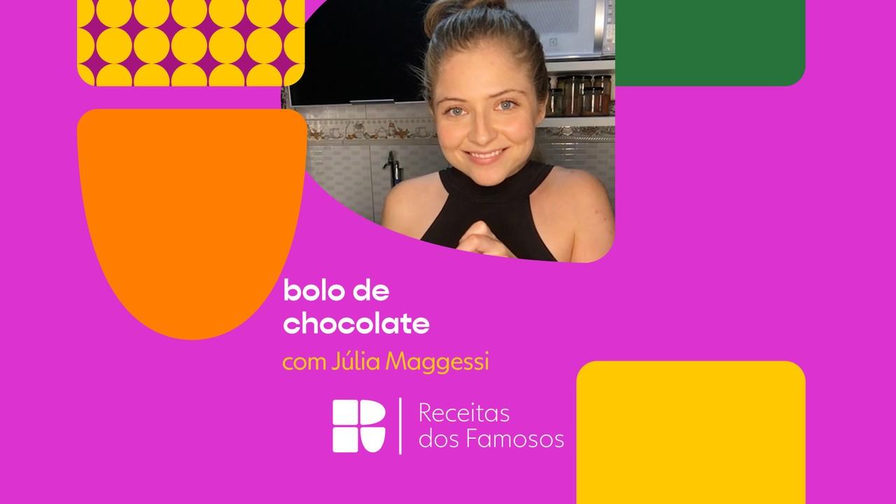 Júlia Maggessi ensina a fazer Bolo de Chocolate