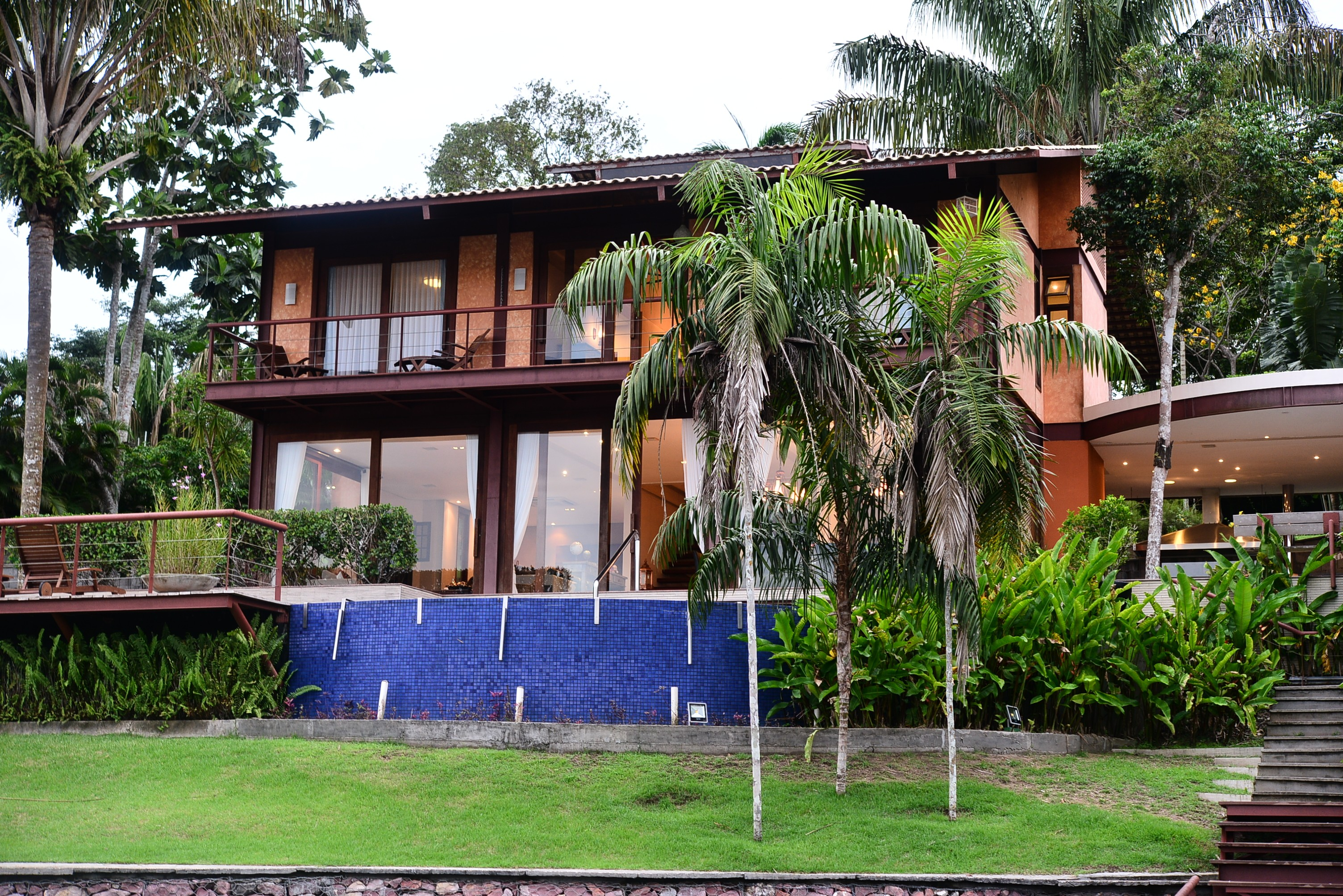 Fachada da casa em Manaus que recebe os clientes selecionados na promoção Casas do Brasil (Foto: Divulgação)