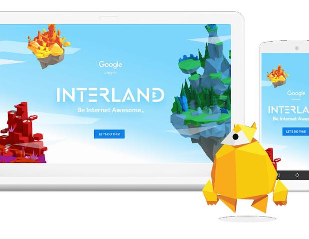 Google cria game para ensinar crianças sobre segurança online (Foto: Reprodução Google)