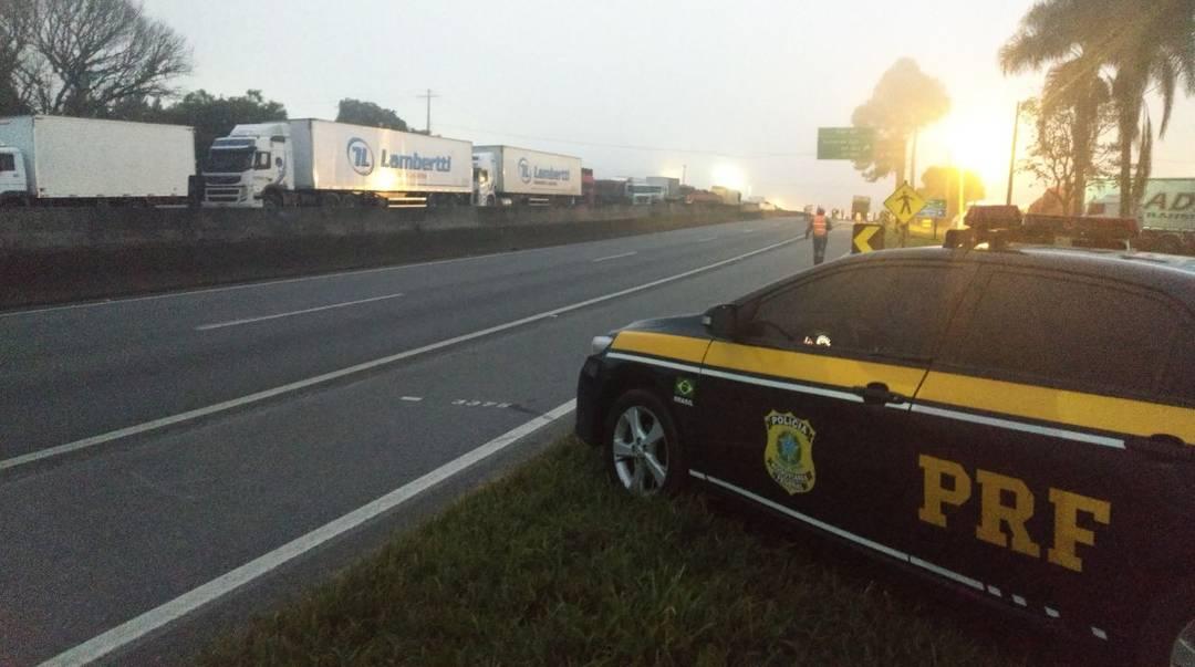 PRF autuará motoristas que restringirem a circulação em rodovias federais