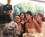 Anajú Dorigon e Bia Arantes vestidas de noiva em 'Órfãos da terra' | Reprodução/Instagram