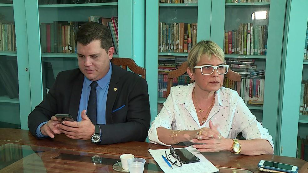 Lilian Pimentel, filha de José Pimentel, entrou na Justiça para impedir que citem nome do pai — Foto: Reprodução/TV Globo