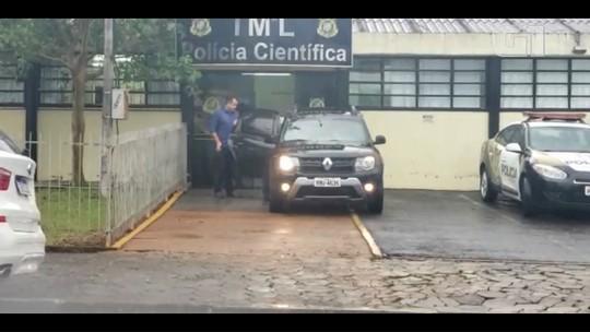 Presos pela Lava Jato, ex-deputado federal Nelson Meurer e filho fazem exame no IML de Francisco Beltrão, no Paraná; VÍDEO